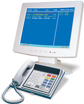NC315 LCD Monitory & NC304 Master Station - Tek-CARE® NC300 II Nurse Call System